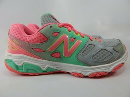 New Balance 680 v3 Size 5.5 M (Y) EU 38 Youth Kid's Running Shoes Grey KR680GKY