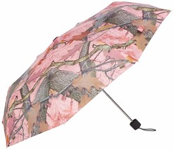"""Pink Camo Umbrella 42"""" Compact New Camouflage Fall Transition Metal Shaf... - $14.84"""