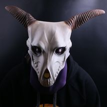The Ancient Magus' Bride Elias Ainsworth Horn Cosplay Latex Mask Costume... - $28.77 CAD