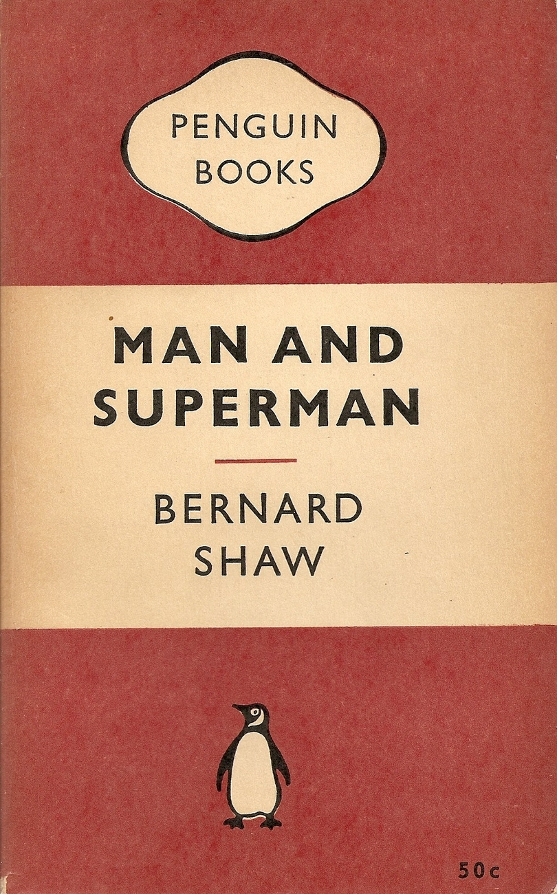 BOOK--Man and Superman by Shaw, Bernard