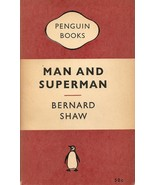 BOOK--Man and Superman by Shaw, Bernard  - $2.99