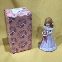 """Excellent Growing up Girls from Enesco Brunette Age 8 Figurine 4 1/2""""  - $17.99"""