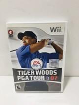 Tiger Woods PGA Tour 07 (Nintendo Wii, 2007) Complete Excellent - $9.49