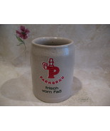 Vintage PARKBRAU BEER Mug Stein Frisch Vom Fab GERMAN Souvenir Germany  - $19.95
