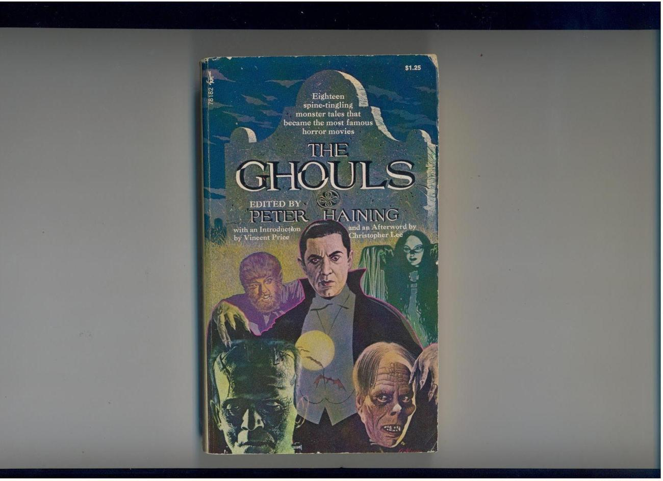 Haining--THE GHOULS--1972--horror tales that became movies