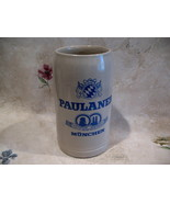 Munchen Munich German Beer Stein PAULANER Beer Glass Mug Vintage GERMANY... - $39.95