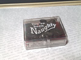 You've Been Naughty Box of Real Coal Gag Stocking Stuffer