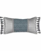 Croscill Gabrijel Boudoir Throw Pillow in Slate Blue - $741,91 MXN