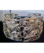 Wide Bold CORO Pegasus Gold Link Bracelet with ... - $12.95