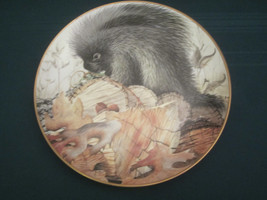 PORCUPINE Collector Plate GEOFF MOWERY October COUNTRY DIARY Franklin Mint - $20.00