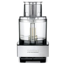 Custom 14-Cup 2-Speed Brushed Stainless Steel Food Processor with Pulse ... - $298.99