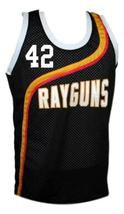 Jerry Stackhouse #42 Roswell Rayguns Basketball Jersey Sewn Black Any Size image 4