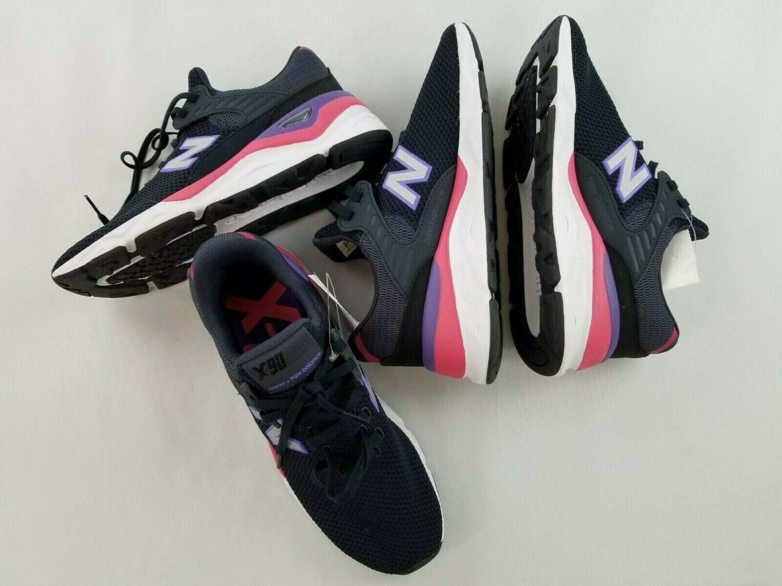 Neu New Balance Herren Schuhe Sneakers X-90 Laufen MSX90CRC Grau 7.5 D Msrp image 11