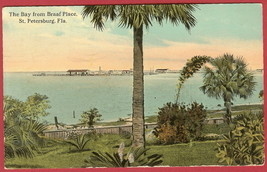 St Petersburg Fl Bay fr Braaf Place 1912 BJs - $4.00