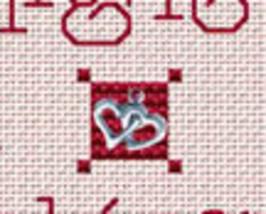 Not Tonight Post Stitches cross stitch chart with charm Sue Hillis Designs image 2