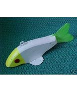 Small Hand Made Folk Art Ice Spear Fish Decoy M... - $8.99