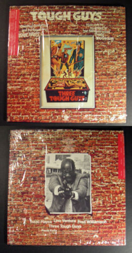 ost ISAAC HAYES Three Tough Guys 1974 QUAD LP funk