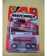 2000 MatchBox Fire Crusher MIP Number 25 2002 P... - $2.79