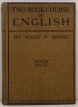 Two Book Course in English Book One by Mary F. Hyde - $4.99
