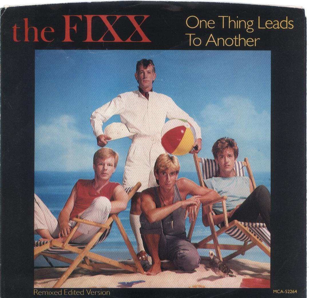the FIXX 45 One Thing Leads to Another Picture Sleeve Only