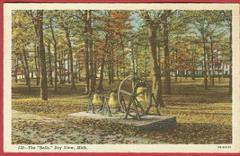 Bay View Mi The Bells Linen postcard BJs - $4.50