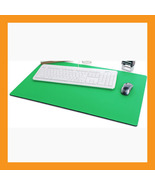 "green large mouse pad 25 x15"" neoprene 6mm padded desk mat computer note... - $36.00"
