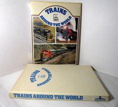 Trains Around the World 1973 Pictorial History of Trains image 2