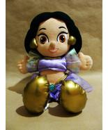 "Disney Aladdin Jasmine Purple Outfit Dress 11.5"" Doll Arabia Plush Stuff... - $23.99"