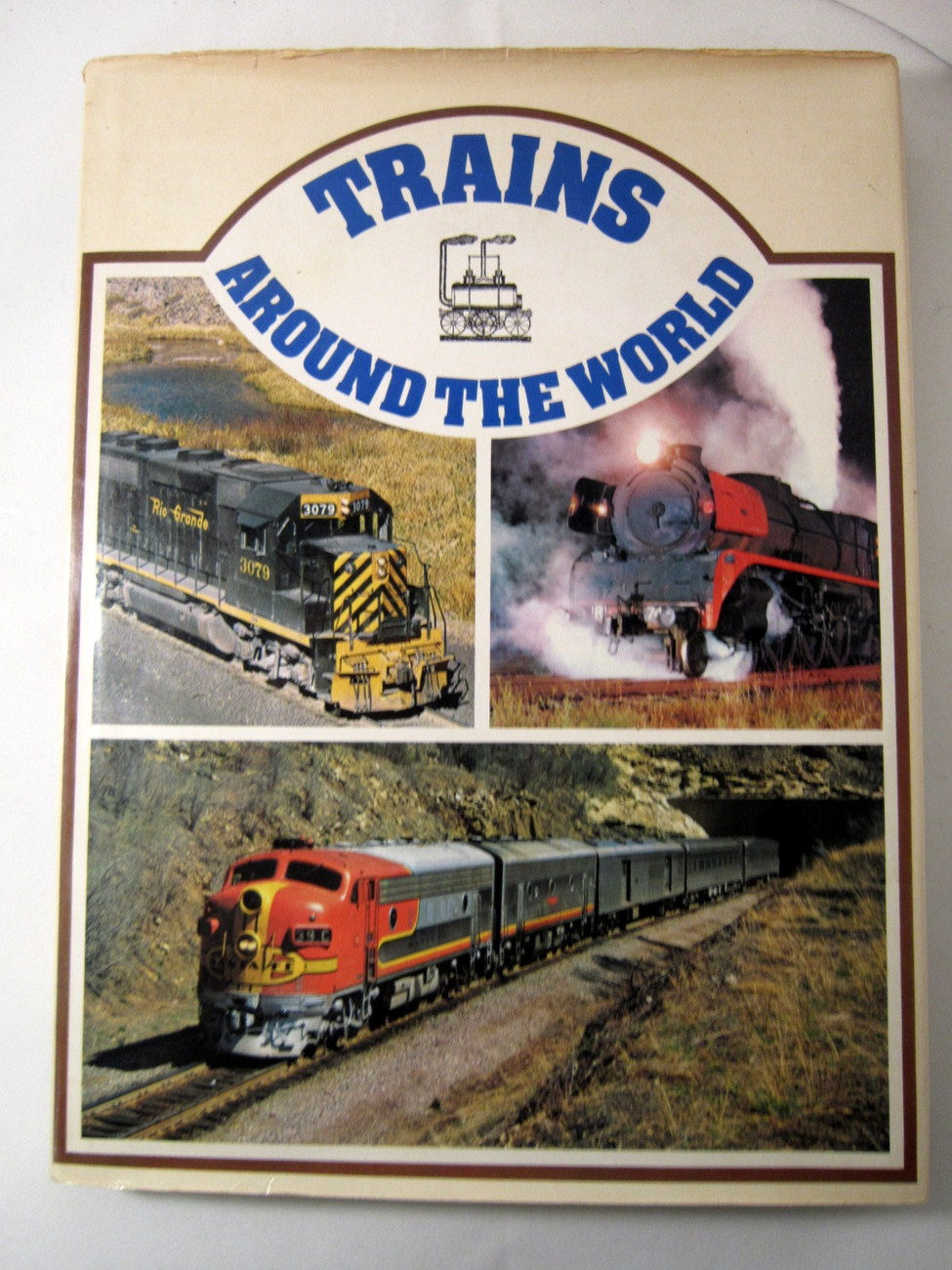 Trains Around the World 1973 Pictorial History of Trains image 3