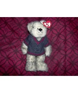 Fairbanks Ty Beanie Babie Bear with Sweater  - $5.20