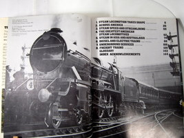 Trains Around the World 1973 Pictorial History of Trains image 5
