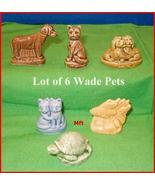 Lot of 6 Wade  Pet Shop Friends From Red Rose Tea  - $24.75