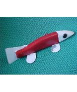 Medium Hand Made Folk Art Ice / Spear Fish Deco... - $11.99