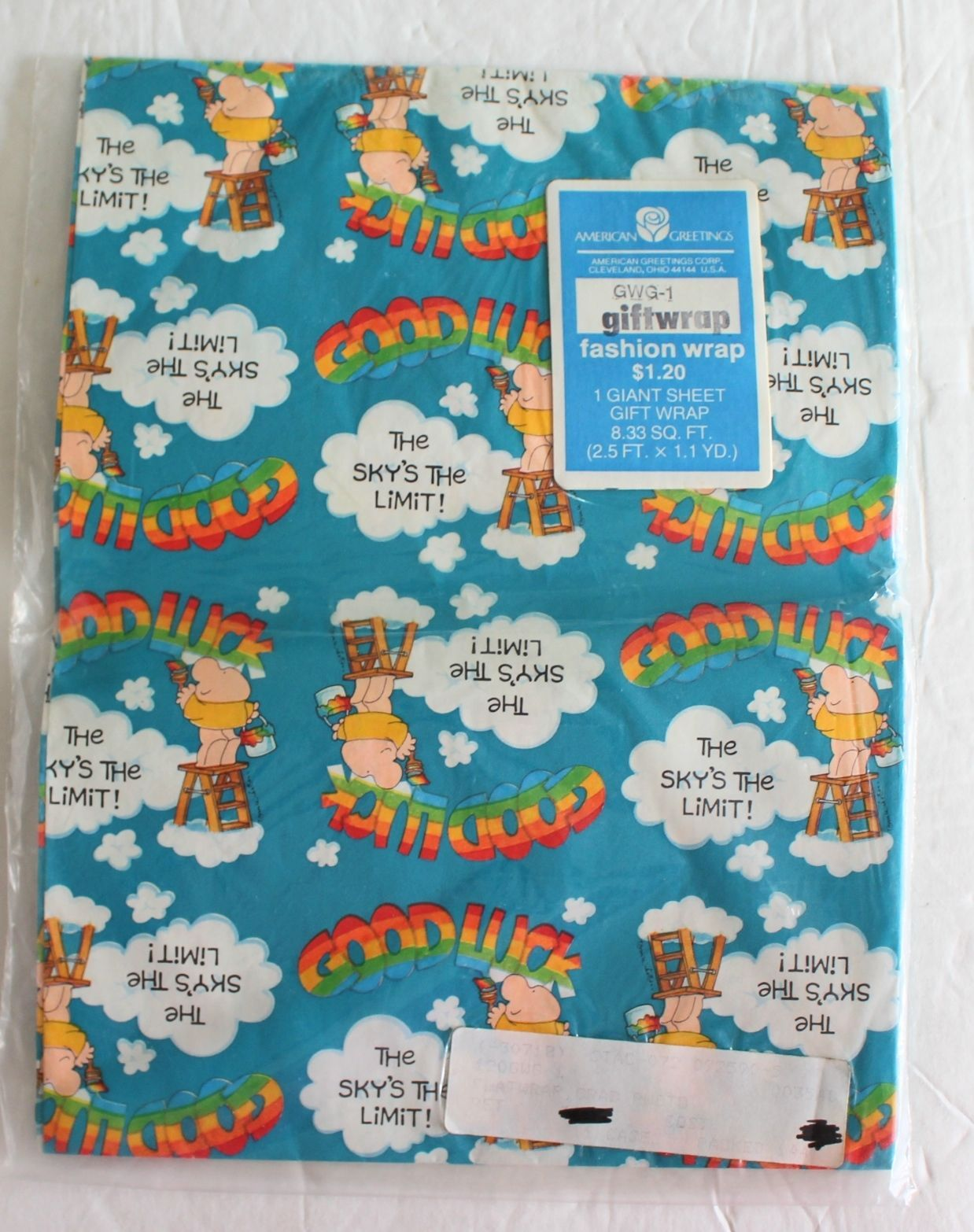 New American Greetings Vtg Ziggy Wrapping And Similar Items
