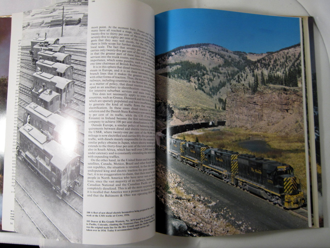 Trains Around the World 1973 Pictorial History of Trains image 6