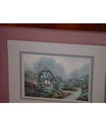 "Cottage In Pink Frame 12""x10"" - $27.00"