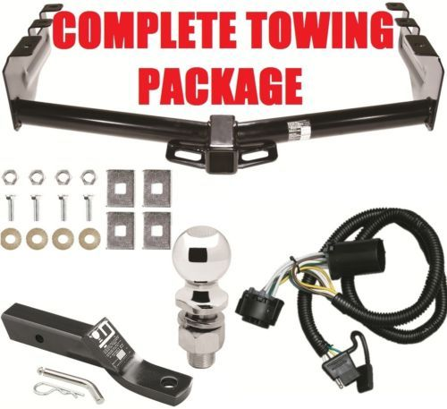 Primary image for COMPLETE TRAILER HITCH PACKAGE ~ SUPER FAST DELIVERY