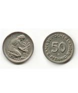 """1949 BANK DEUTSCHER LÃ""""NDER 50 PFENNIG G COIN ~... - $29.99"""