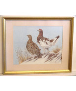 Patti Lindstrand Signed Ltd Ed Alaskan Wildlife Framed Print REDUCED PRICE - $9.50