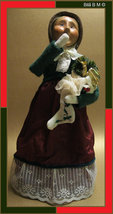 Victorian CAROLER DOLL by BYERS' Choice Ltd - Retired - FREE SHIPPING - $39.00