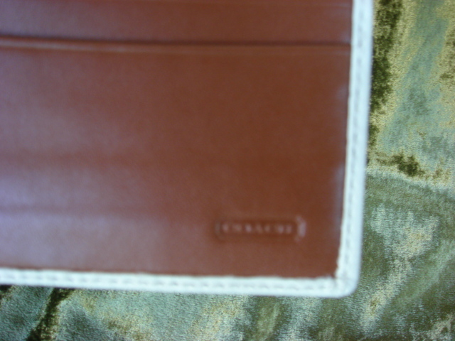 Coach Soho Slim Parchment Envelope F41512 FREE SHIP