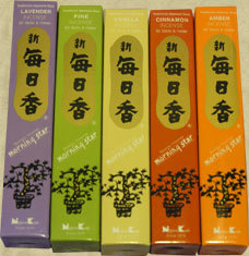 Morning Star Japanese Incense 5  pack