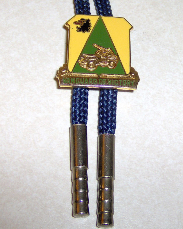 Vanguard of Victory 11th Army Division WWII ? Bolo Tie