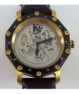 KC Men's Diamond Skeleton Automatic Watch Decagon - $197.99