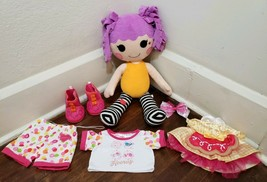 "Build a Bear BABW Lalaloopsy Peanut Big Top Doll Plush and Outfits 20"" - $19.34"
