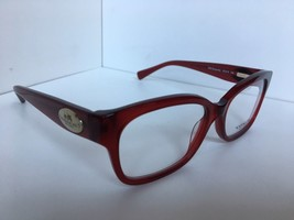 New COACH HC 6071 5029  52mm Red Burgundy Rx Women's Eyeglasses Frame  - $64.99