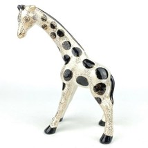 "Vintage Lefton Porcelain Ceramic Giraffe Figurine Japan 8.5"" Tall Gold S... - $26.47"
