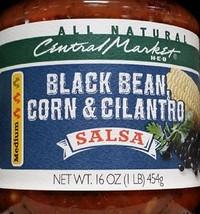 Central Market HEB Salsa 16 Oz (Pack of 2) (Black Bean Corn & Cilantro Salsa - M - $28.90