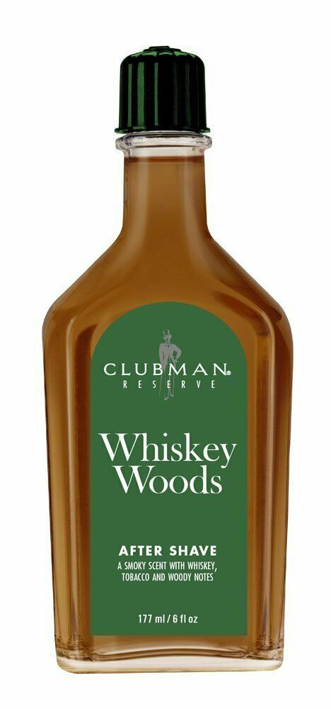 Clubman Reserve After Shave, Whiskey Woods  6 oz