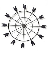 Black Arrow Metal Wall Decor - 12 Arrows - $64.34